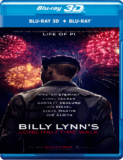 Billy Lynn's Long Halftime Walk 3D Online 2016